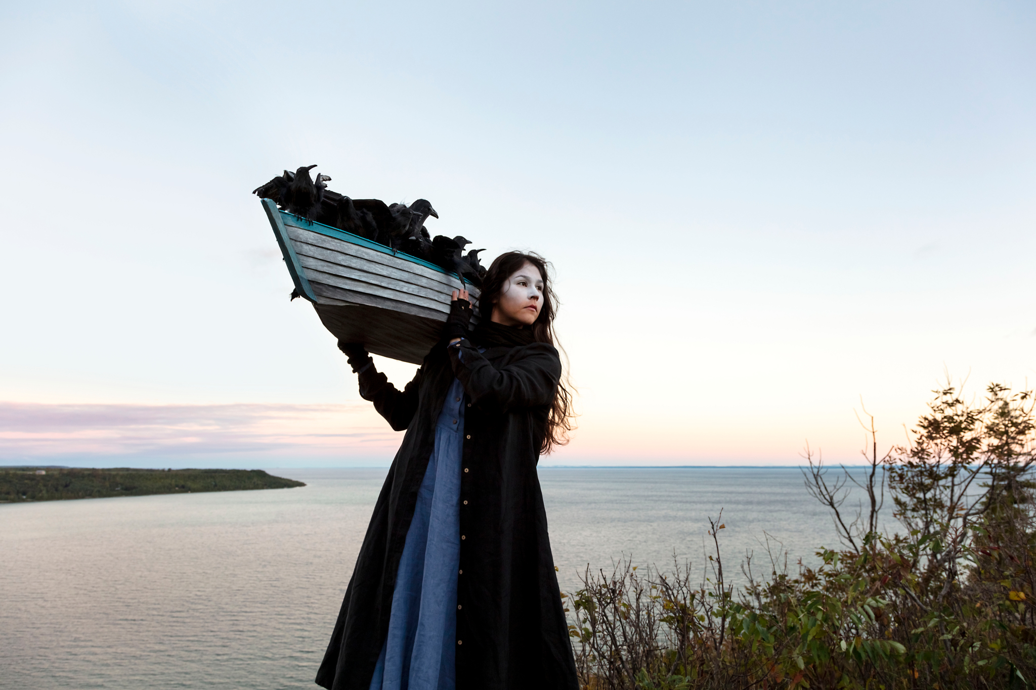 On the Edge of this Immensity by Meryl McMaster